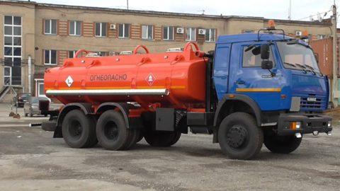 АТЗ-10 на шасси КАМАЗ 65115-19(39)64-19