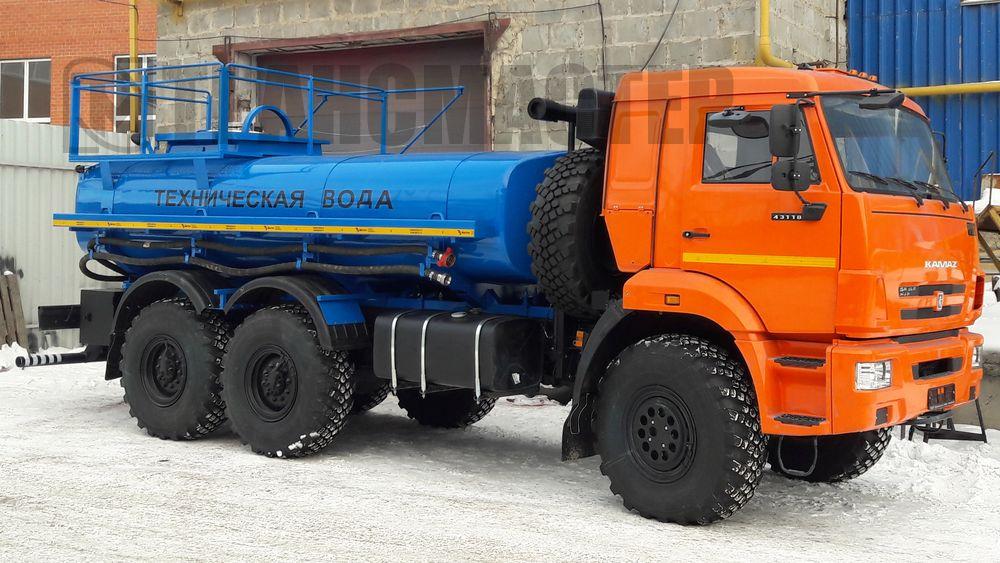 АЦН-10 на шасси КАМАЗ 43118