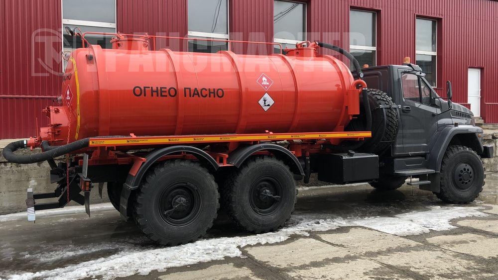 АКН-10 на шасси УРАЛ NEXT