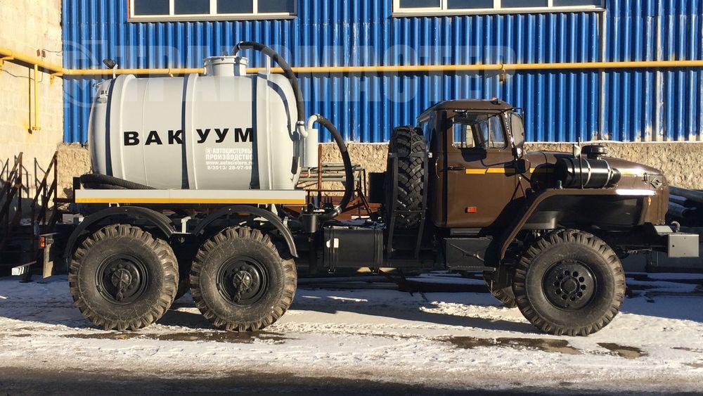 МВ-5 на шасси УРАЛ 4320