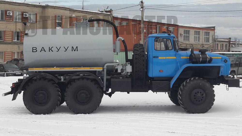 МВ-6 на шасси УРАЛ 5557